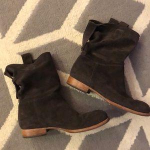 Alberto Fermani Umbria slouch short boots